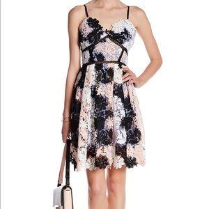 Romeo & Juliet Pink Combo Lace Dress