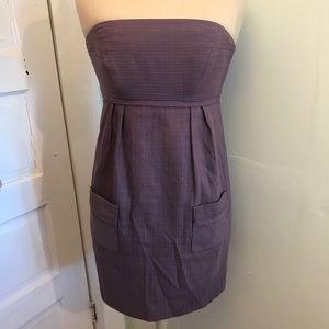 •Milly• Strapless Lilac Dress