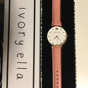 Ivory Ella rose gold watch NEW IN BOX