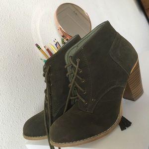 rue 21 olive green heels