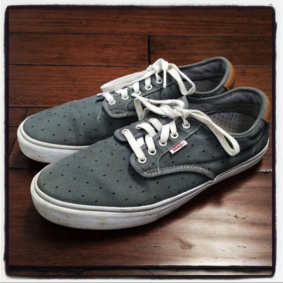 292e5a7d72 Men s Vans Off The Wall Grey Canvas Sneakers 11.5.  M 59e7e213ea3f3658be0a9fde