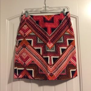 Aztec skirt with pockets
