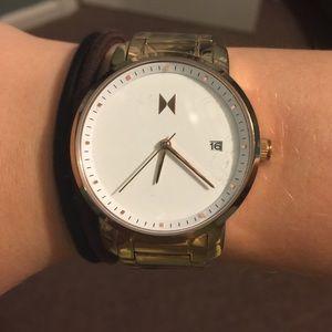 Rose Gold MVMT Watch