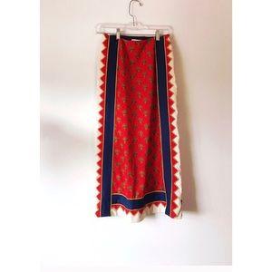 Vintage Bohemian Aztec Skirt