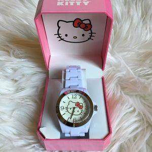 Hello kitty white watch