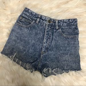 Vintage Guess High-Waisted Shorts