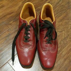Rust red HERMES Sneakers
