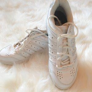 Classic K Swiss white sneakers