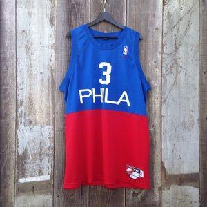 Philadelphia 76ers Allen Iversen Jersey   XXL