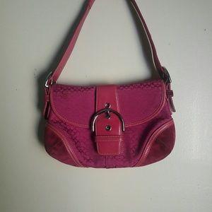 Coach Soho flap purse