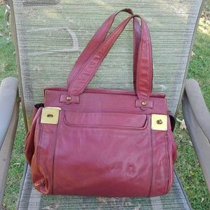 Mulberry large leather tote