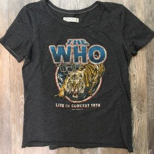 """Abercrombie & Fitch Tee """"The Who"""""""