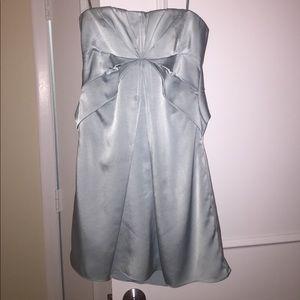 Light blue strapless BCBG dress, size 4