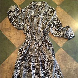 Indikka 🙀🖤🔳🔲 graphic design dress!