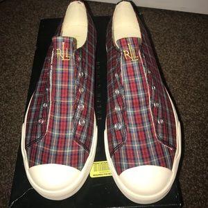 Ralph Lauren Plaid shoes