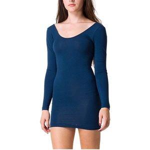 American apparel Cotton Spandex Bodycon Dress