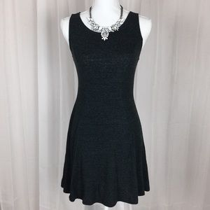 FOREVER 21 Fitted Heather Grey Tank Dress