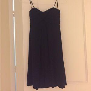 Sweetheart neckline little black dress