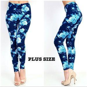 Pants - New Super Soft Floral Print Legging