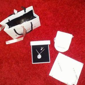 Pandora floating charm necklace