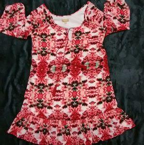 Takara S ruffle bottom dress