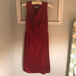 Authentic red Yves Saint Laurent dress