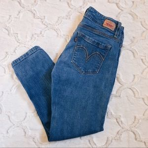 Levi's Cropped Mom Jeans