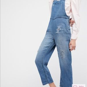 Free people destructive overall