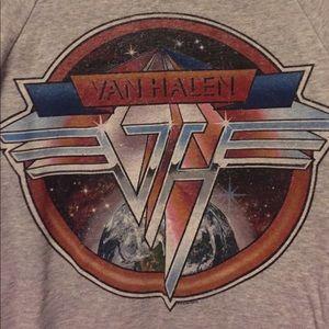 Van Halen wide neck pullover
