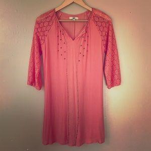 Boutique Beautiful Fall Dress - Small