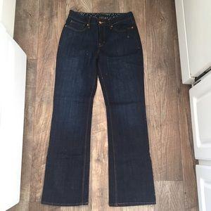 Levi's The Original Jean Perfect Waist 525 Dark 8