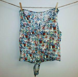 American Rag Cropped Blouse
