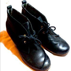 Sperry Black Booties