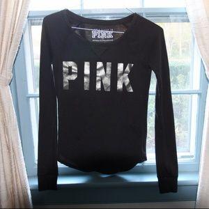 *SALE*vs pink thermal long sleeve sleep top