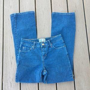 Levi's Medium Wash Mid Rise Boot Cut Jeans