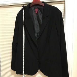 Plus size women's blazer
