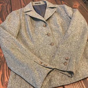 Vintage tweed blazer
