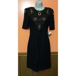 Vintage Sequins 1980s Gown