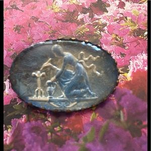 Jewelry - Rebecca At The Well Foil Cameo Brooch