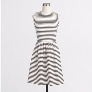 J. Crew Striped Daybreak Dress