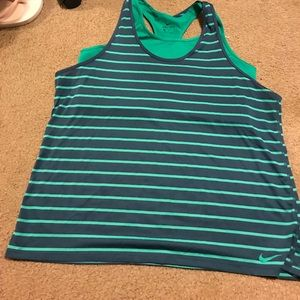 Nike Dri-Fit Tank w/ Built in Sports Bra