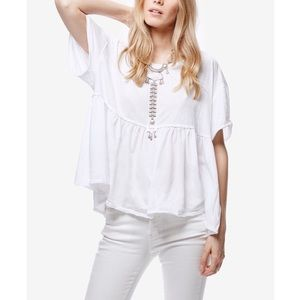 WE THE FREE PEOPLE Odyssey Seam-Detail Top