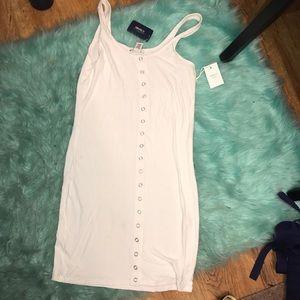 White Tank Top Dress