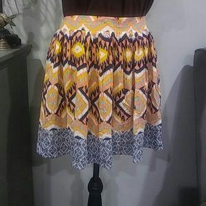 4 for $15 NEW print rayon skirt