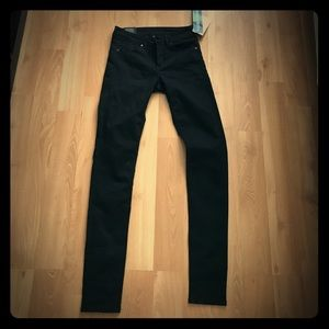 Black H&M skinny jeans size 6 NEVER WORN