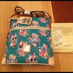 Disney Dooney&Bourke Flower&Garden Letter Carrier
