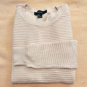 Forever 21   Ribbed Beige Sweater