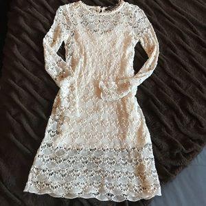"""Zara """"Eyelet"""" Crochet Dress!!!"""