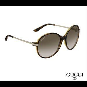 RARE Gucci 3138/S 0G0Y Havana Gold Sunglasses 😎