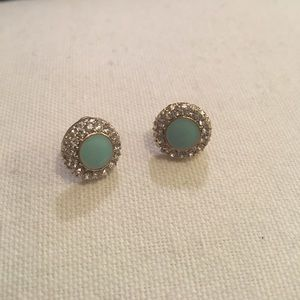 Francesca's Collections•Diamond&blue stud earrings